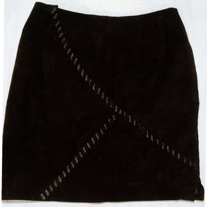 Clothes Revue Suede Leather Skirt